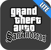 Download game Grand Theft Auto : San Andreas LITE APK + Data 65MB