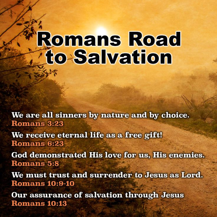 7 best Roman Road to Salvation images on Pinterest