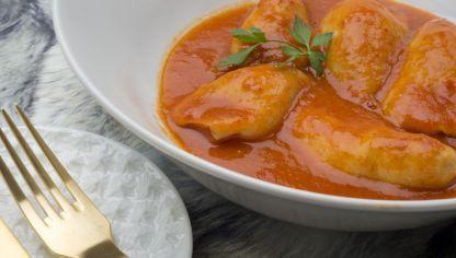 Receta de Chipirones rellenos en salsa - Karlos Arguiñano