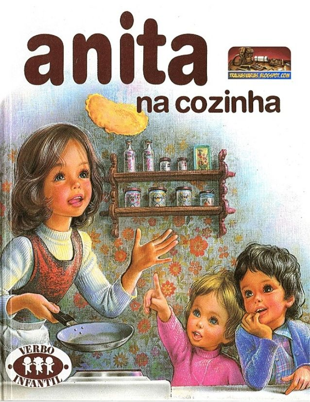 Anita na cozinha