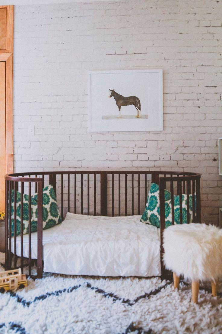 Stokke Sleepi Junior Bed in Walnut – Sustainable, beautiful modern furniture that grows from nursery to kids room