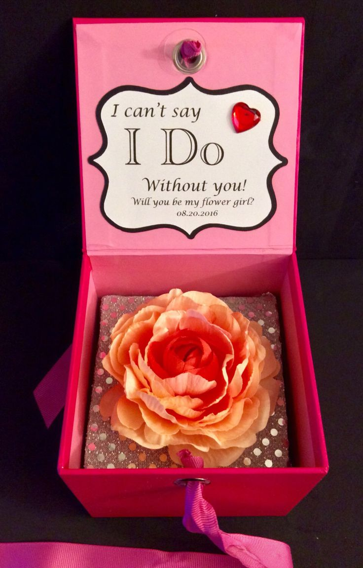 A personal favorite from my Etsy shop https://www.etsy.com/listing/267591101/will-you-be-my-flower-girl-flower-box