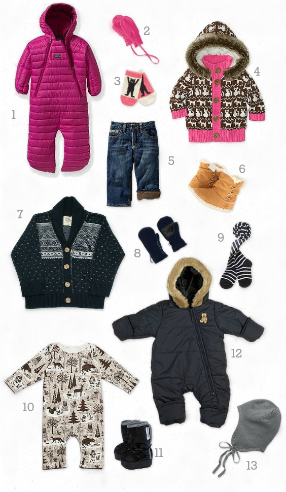 Adorable Winter Baby Clothes >> BabyList