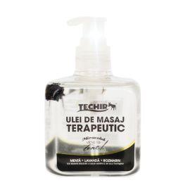 <p>Uleiul de masaj relaxant Techir este un produs ce permite efectuarea unui masaj de durata in timp ce hidrateaza si catifeleaza pielea. Ingredientele permit maximizarea efectului de masaj prin textura non-grasa si usoara, ce ajuta uleiul sa patrunda repede in piele. Proprietatile uleiului din seminte de struguri sunt ideale pentru regenerarea pielii fiind un bun purtator de ingrediente active. Uleiul de ricin este emolient pentru piele, bogat in acizi grasi si usor analgezic. Vitamina E…