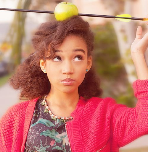 Amandla Stenberg  Rue in Hunger games