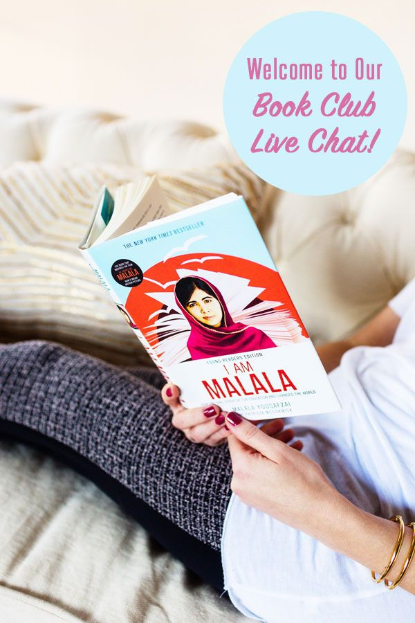 Join us for a live chat on our book club read: I Am Malala