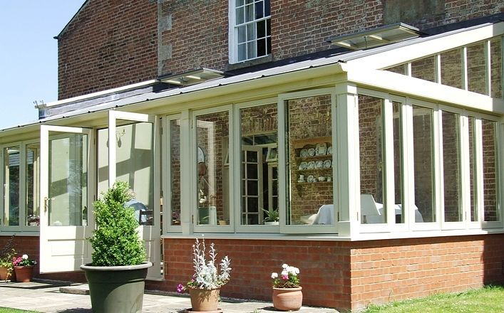 timber lean to conservatory - Google Search