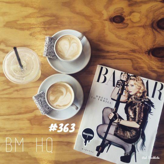 Black Milk. Brisbane. 365 coffees. 365 cafes. 365 days.