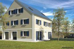 Modèle familial - 227 m² habitables - 10 pièces dont 8 chambres #plan #maison #immobilier #diogo