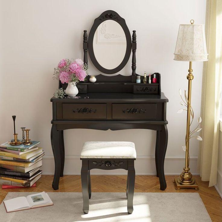 TJ Vanity Set with Mirror