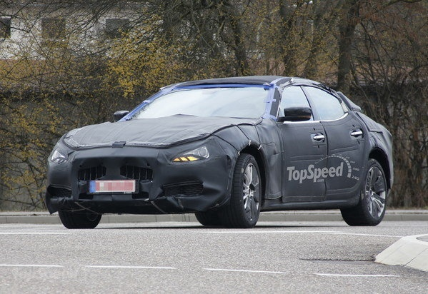 Spy Shots: Maserati Ghibli Goes Out For Another Testing Session