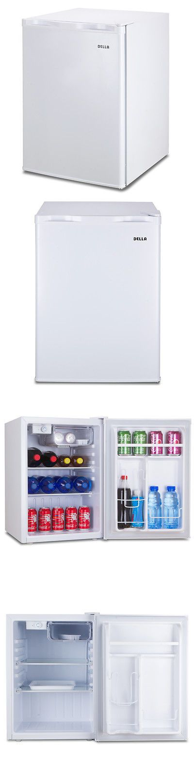 Other Refrigerators and Freezers 159920: Small Refrigerator Dorm Fridge 2.6 Cu Ft Office Compact Room Beer Cooler White -> BUY IT NOW ONLY: $119.99 on eBay!