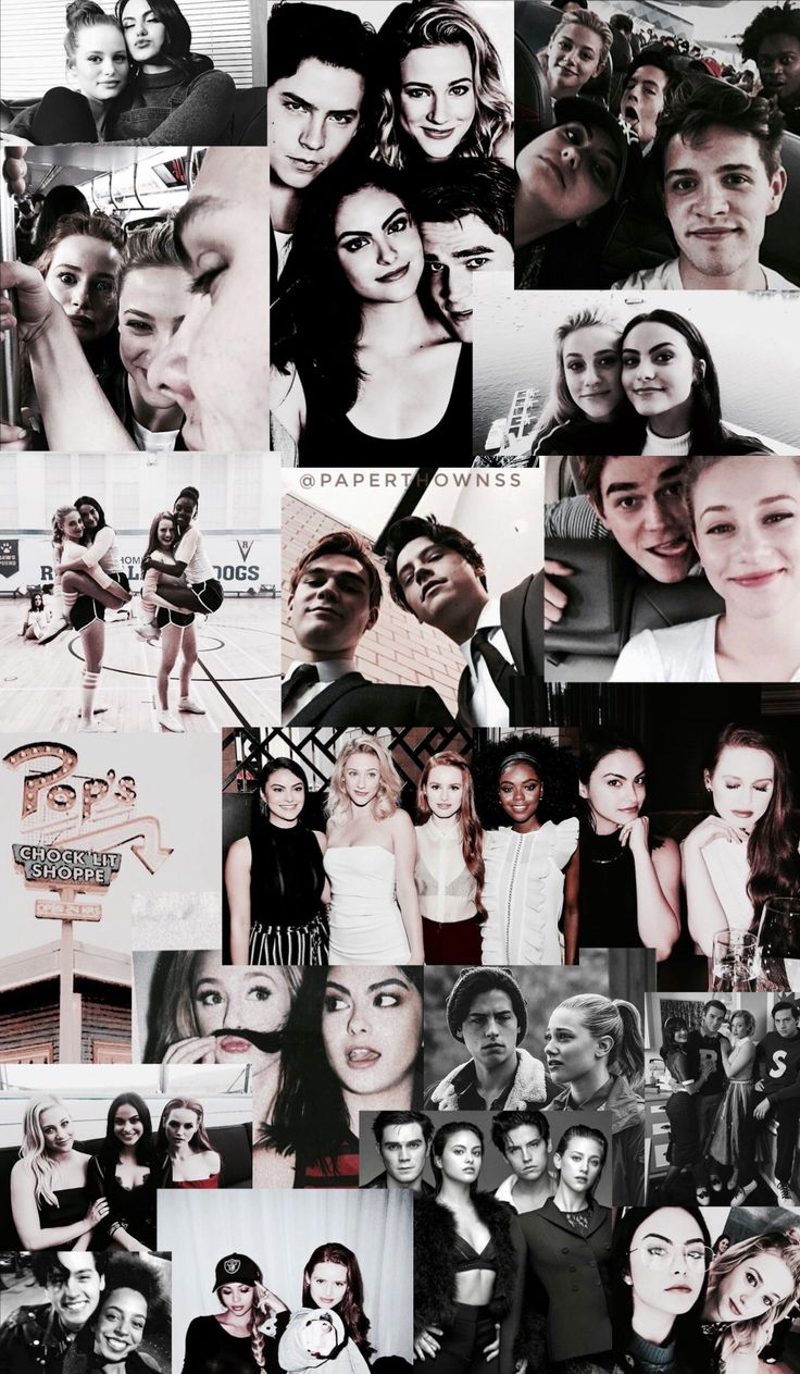 Riverdale collage/wallpaper