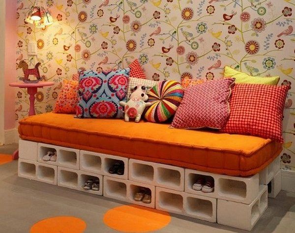 The 25 best Cinder block furniture ideas on Pinterest
