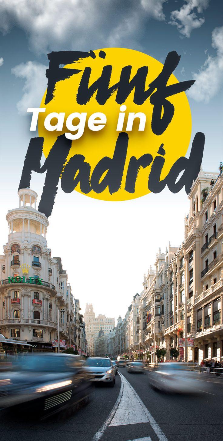 Hier sind unsere Tipps für Deinen Kurztrip in die spanische Hauptstadt, Madrid. #madrid #spanien #spain #travelblogger #travel #blogger #ronnyrakete