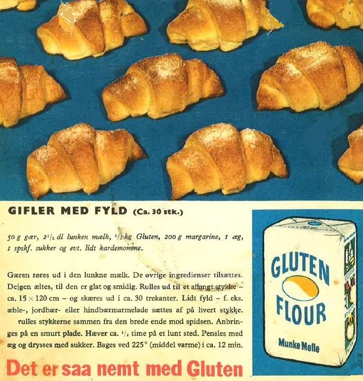 Gifler med Fyld ( ca. 30 stk. )...