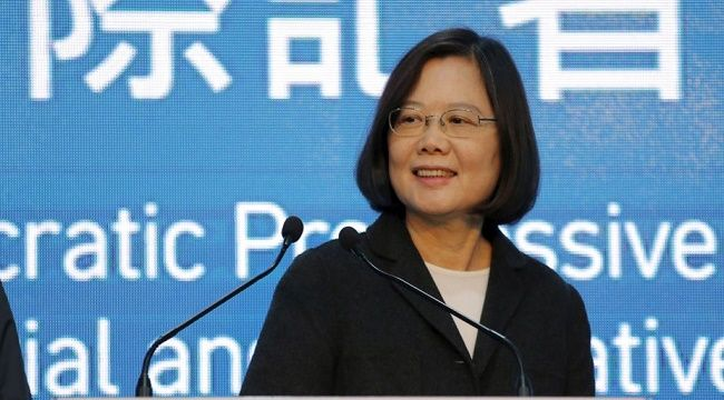Tsai Ing-wen is the first female president of Taiwan