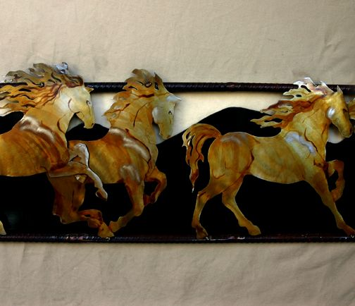 five horses: Hors Decoration, Horses Art, Hors Art, Horses Decoration