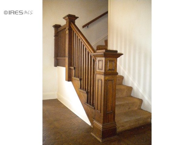Vintage Staircase From A 1905 Home. Beautiful Craftsman/Prairie Style,  Located In Eaton, CO | Dream Home | Pinterest | Staircases, Craftsman And  Railings