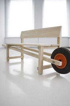 Bank - Wheelbench Designer_Rogier Martens (Cool Easy Products)