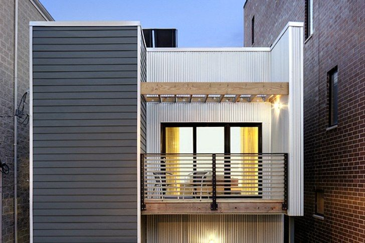 Square Root Architecture completes their first C3 prefab on an urban infill lot in Chicago and aims for LEED Platinum certification.