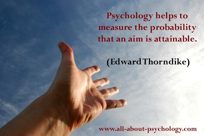 Edward Thorndike Quote.