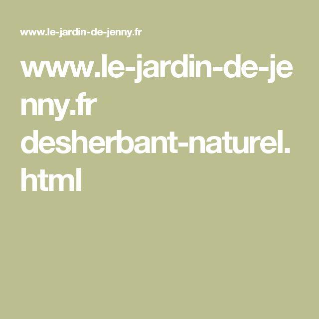 17 meilleures id es propos de desherbant naturel - Vinaigre desherbant naturel ...