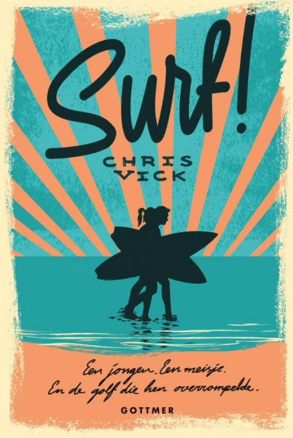 Het volgende boek waar we in gaan lezen. Surf!' van Chris Vick is een meeslepende Young Adult roman over een jongen, een meisje en de golf die hen overrompelde. Een verhaal dat je grijpt als een monstergolf en je niet meer loslaat Surfen als een 'kook'. #hebban