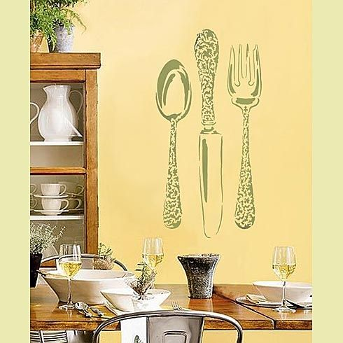 121 best silverware as decor images on Pinterest   Flatware ...