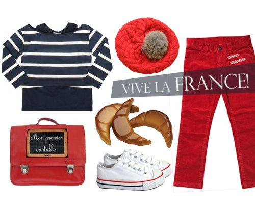 Outfit ideas for Bastille day party