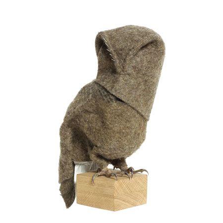 Tawny Owl by Maarten Kolk & Guus Kusters via dezeen #Owl #Maarten_Kolk #Guus_Kusters #dezeen