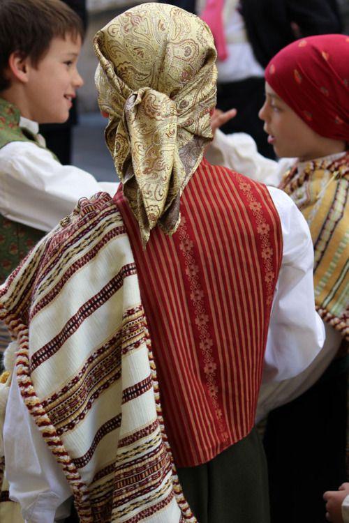 Fallas Festival Boys attire ~ Valencia,Spain