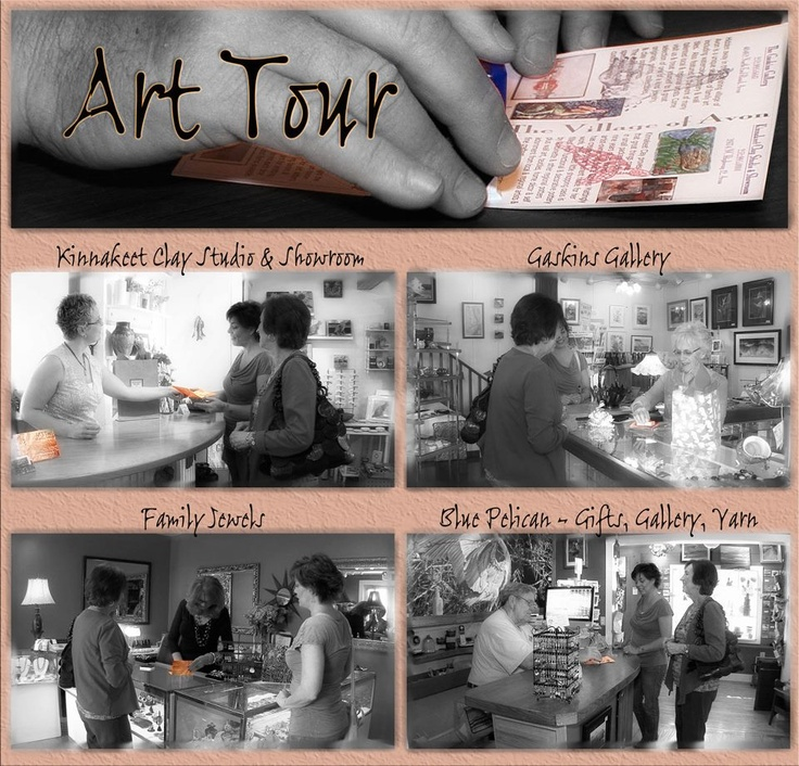 While youre on the island, dont forget to pick up your ART TOUR card...visit Blue Pelican Gallery, Kinnakeet Clay Works by Antoinette Gaskins Mattingly, The Gaskins Gallery and Family Jewels - let us all stamp your card - and its worth $10 off a purchase at ANY one of our shops!  Look for our new long format commercial coming soon (to Cable channel 12 and YouTube,) too, for a preview.