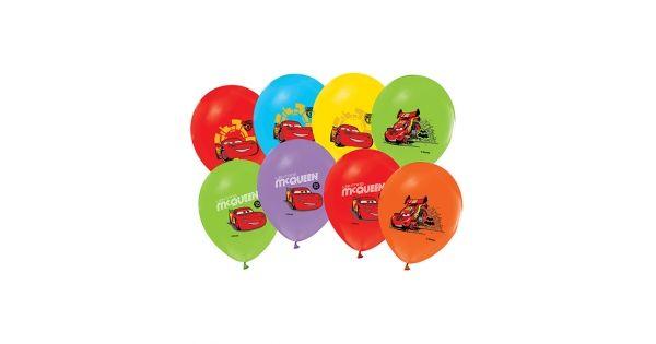 Cars Balon (20 Adet)Şimşek Mcqueen Balon Ürün ÖzellikleriÜrün Paketinde 20 Adet Şimşek Mcqueen Baskılı Balon bulunur.Cars balonlar canlı baskı ve kalitelidir.Cars temalı balonlar karışık renkte gönderilmektedir.. Parti Süsleme malzemeleri arasından en çok tercih edilen üründür.