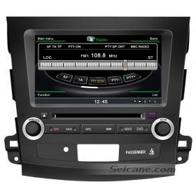 Digital Touch Screen Car DVD Player GPS Navigation Specialized for 2006-2011 Mitsubishi outlander with Radio Bluetooth USB SD 3G WiFi-1