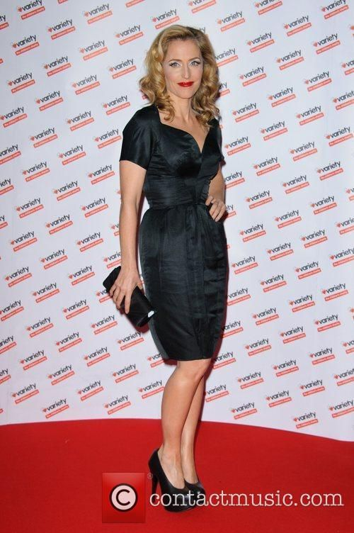 Gillian Anderson Wednesday 30th November 2011 Hidden Gems Photography Gala Auction in aid of Variety Club the Childrens Charity at...