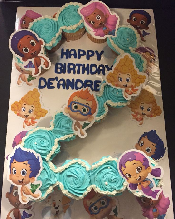 Bubble Guppies Cupcakes