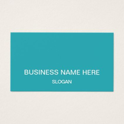 Minimalist professional company business cards - cyo diy customize unique design gift idea