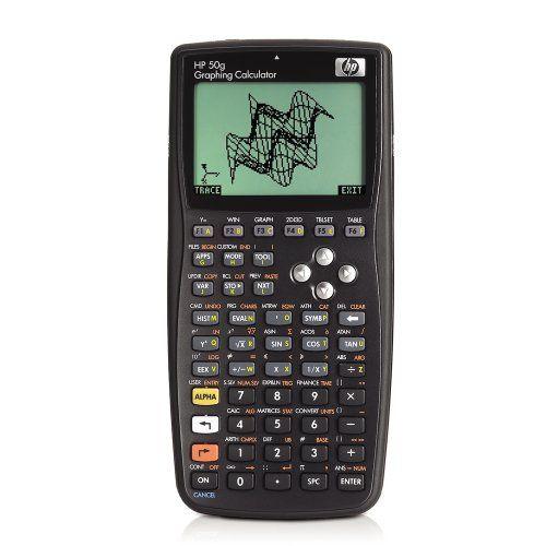 awesome HP HP50G - Calculadora gráfica (pantalla LCD, 5 modos predeterminados, 512 MB, 8,8 x 2,5 x 18,4 mm, 196 g)