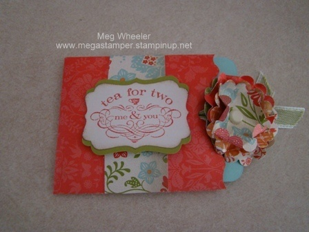 Gift Card or Tea Bag HolderGift Ideas, Cards Projects, Crafty Things, Stampin Ideas, Gift Cards, Teas Bags Holders, Teas Shoppe