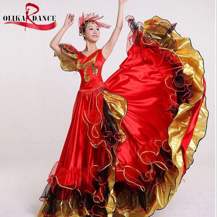 Испанский-танец-фламенко-платья-танец-костюм-для-девочек-дешевые-540-градусов.jpg (800×800)