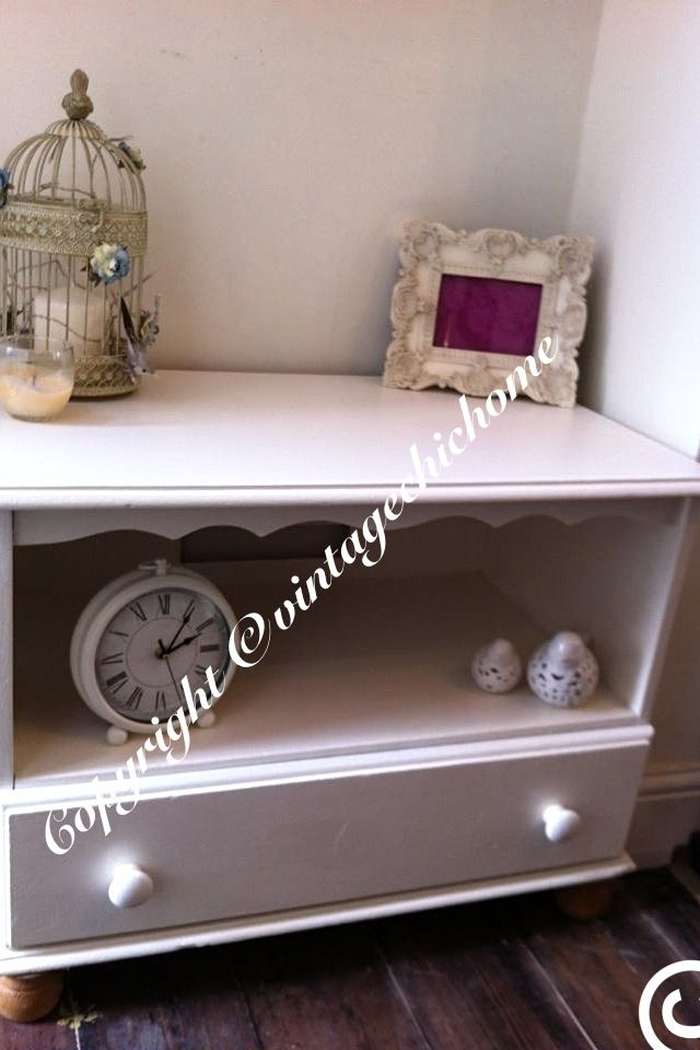 Shabbychic tv unit  Www.vintagechichome.co.uk www.facebook.com/VintageChicHomeShabbyChicFurniture Twitter - @Vintage Chic Home www.tumblr.com/blog/vintagechichomeuk Google plus - vintagechichomefurniture  Instagram - Vintage Chic Home