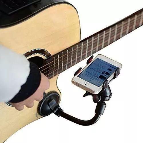 suporte de celular para violão