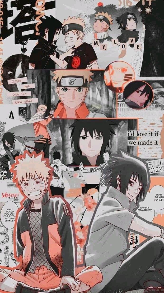Pin oleh LailyVe Ai di wallpaper Naruto and sasuke