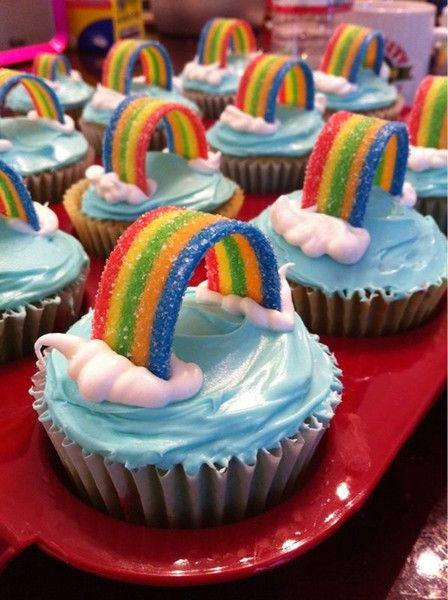 rainbow party-themes Más