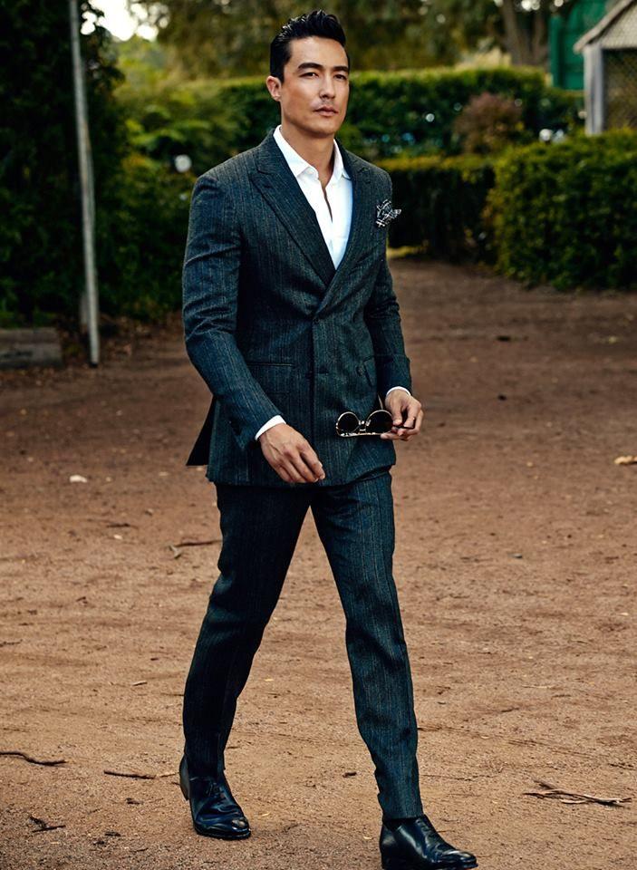Harper's Bazaar Korea  Title:The Gentleman  Model:Daniel Henney  Photographed by Hong Jang Hyun  June 2013
