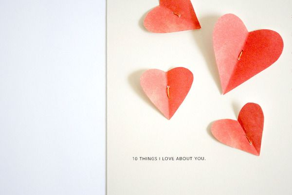 Hearts: Diy Ideas, Birthday Card, Valentine Card, Valentines Day, Card Ideas, Stationary Ideas, Homemade Valentines, Birthday Birthday, Birthday Ideas