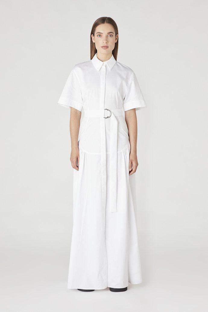 Camilla & Marc Parker Maxi Dress white | the urge US | Parker maxi ...
