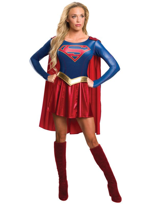 Check out Women's Supergirl TV Costume - TV & Movie Womens Costumes from Wholesale Halloween Costumes