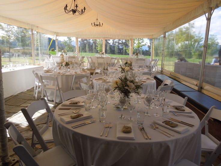 Beautifully decorated for a Spring wedding at Maple Lodge #wedding